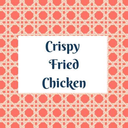 Family Meal: Crispy Fried Chicken