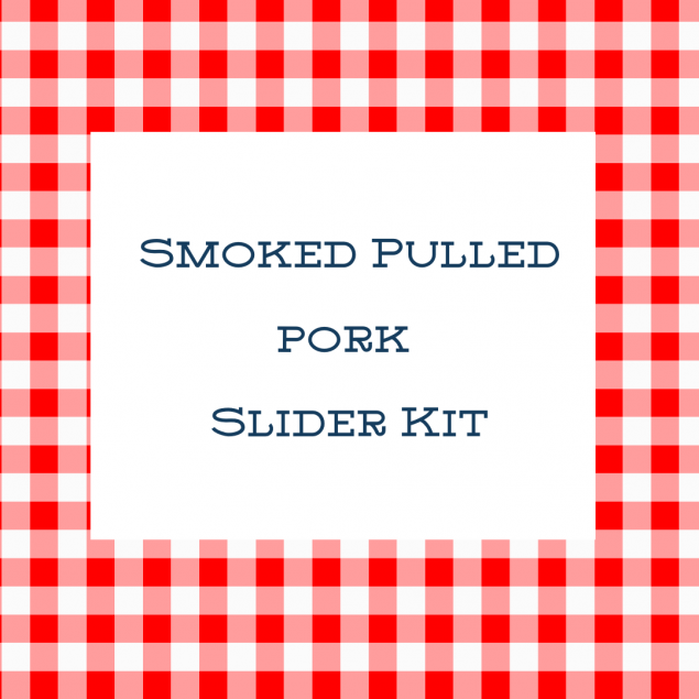 Family Meal: Smoked Pulled Pork