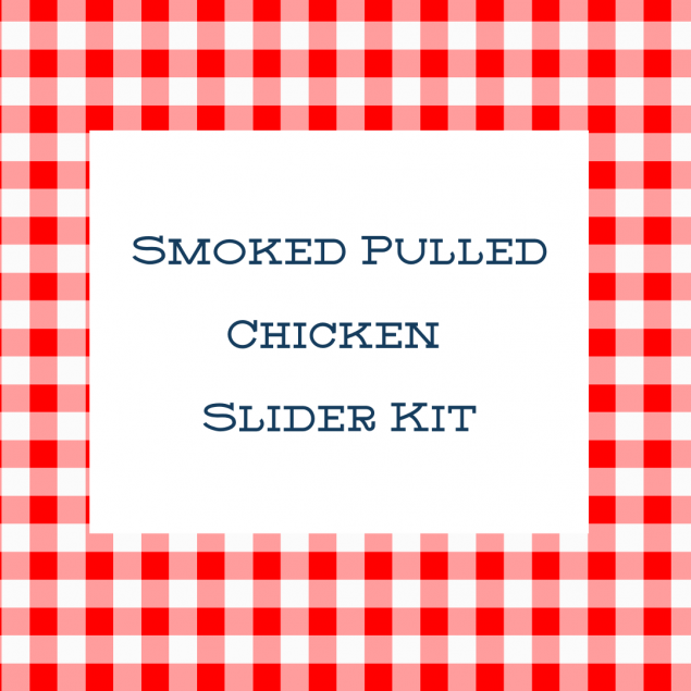 Family Meal: Smoked Pulled Chicken